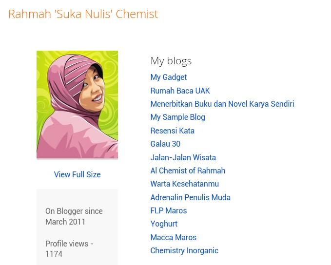 Blogger-profil