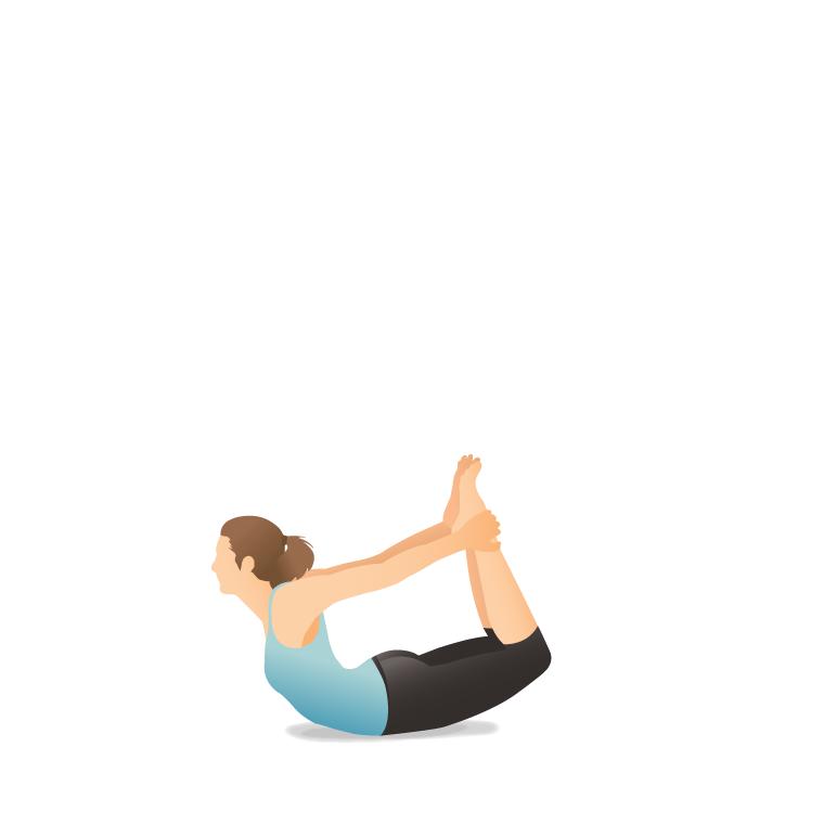Gerakan-yoga-Bow