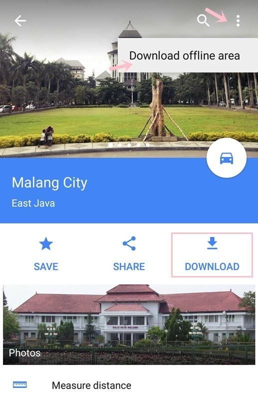 cara-google-maps-offline