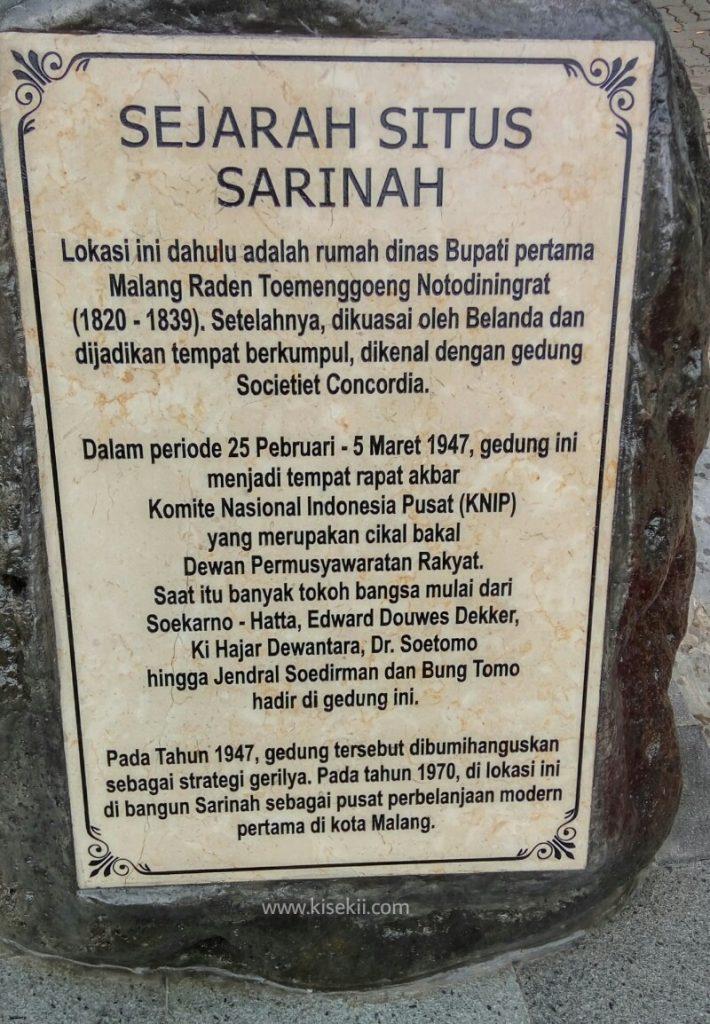 sejarah-Sarinah-Malang