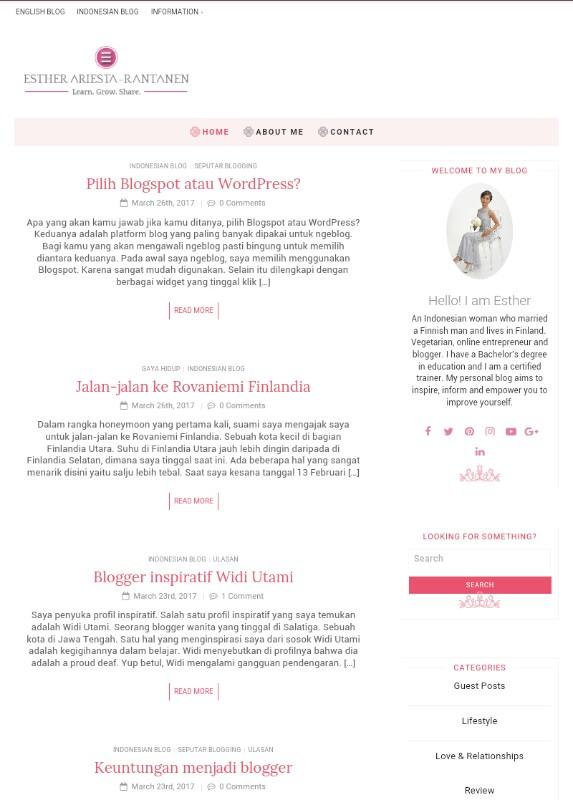 tampilan-blog-girly