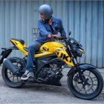 Hamish Daud Suzuki GSX 150