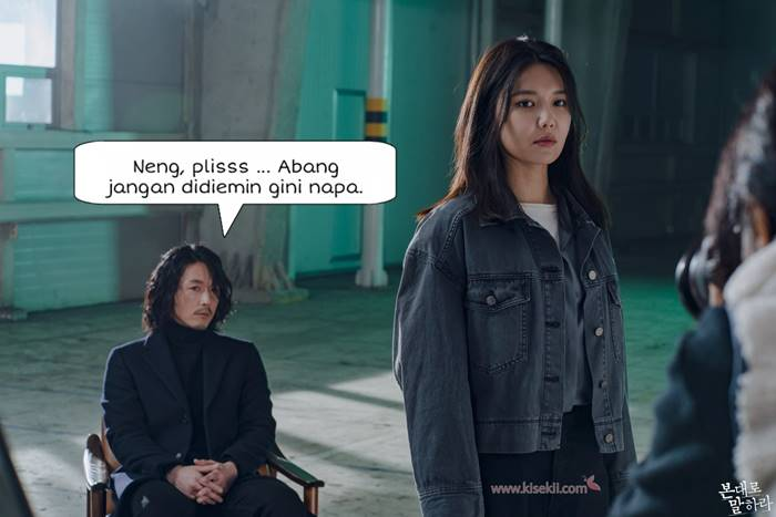 Jang Hyuk dan Choi Soo Young di Tell Me What You Saw