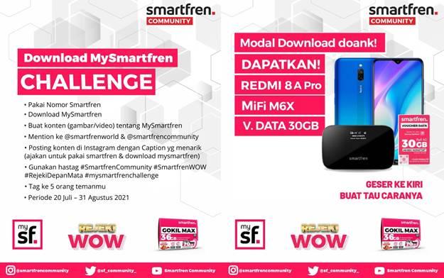 smartfren-challenge-terbaru